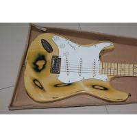 hot sell yellow copy old electric guitar for sale Manufactures