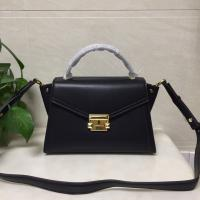 Michael Kors Whitney Black Leather Ladies Bat Ear Bags Shoulder women's handbag Manufactures
