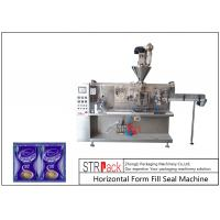 Automatic Sachet Horizontal Form Fill Seal Machine 4 Sides Sealed For Powder Products Manufactures