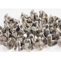 High Strength Titanium Torx Screws For Military , Space And Aviation Manufactures