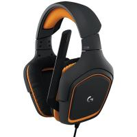 China 90dB Around Ear Headphones Logitech G231 Prodigy With Folding Unidirectional Mic Lay Flat Earpieces on sale