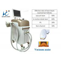 Mini Pain Free Permanent Vacuum Laser Hair Removal Equipment For Men Use Manufactures