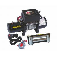China 12V / 24V 6000 LB 4x4 Recovery Winch / Winches With Switch Control on sale