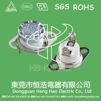 KSD301 temperature  control switch for car heating  pad Manufactures