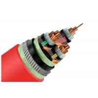33kV Medium Voltage Steel Wire Armoured Electrical Cable 3 Phase Copper Wire Screen XLPE Power Cable Manufactures