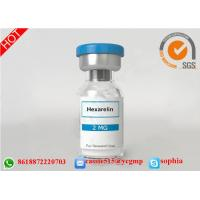 HGH Human Growth Hormone Peptides , Lyophilized Powder Hexarelin 140703-51-1 Manufactures