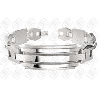 Stylish Stainless Steel Bracelets With Chain , Silver Bracelets For Women Manufactures