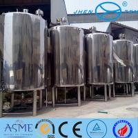 Milk Storage High Pressure Vessel Bioligy Health Tank Vertical Manufactures