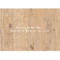 Quality Real Wood Grain Foil Wood Grain Sheets Film for sale