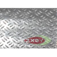 Quality Embossed Aluminum Sheets With Triple Rice Grain Pattern 1050 3003 5052 for sale