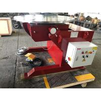 China 3T Pipe Welding Positioners , Welding Rotators Positioners Anti Electromagnet Funtion on sale