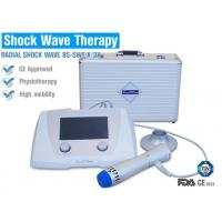 China Focused / Unfocused Radial Shockwave Therapy Machine For Shoulder Calcific Tendinitis on sale