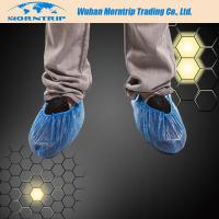 Quality Disposable Non Skid Waterproof Dustproof PP PE CPE Shoe Cover for sale