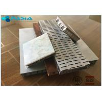 Quality Sound And Heat Perforated Honeycomb Core / Honeycomb Material With Excellent Performance for sale