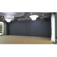 No Floor Track Folding Temporary Sound Proof Folding Movable Partition Wall for Restaurant Manufactures