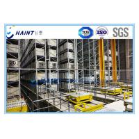 AS RS Automatic Storage Retrieval System Improving Storage Space For Pallets Manufactures