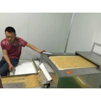 China Grains Peanut Soybean Biomass Drying Machine , Industrial Microwave Dryer on sale