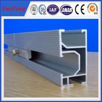 high efficiency10000w solar panel mounting aluminum rail, Solar Module Mounting Rail Manufactures