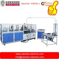 China high speed paper cup making machine with collection can make both single and double PE coated paper cup on sale