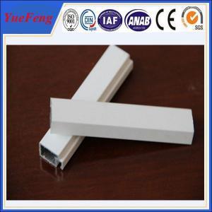 decorative powder coating aluminum door profiles, supply aluminum building extrusion Manufactures