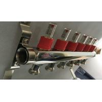 House Long Flow Meter  Manifold For Underfloor Heating On Stainless Steel 304 Manufactures