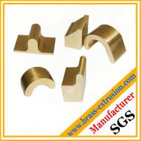 copper metal alloy extrusion profile sections hardware C38500 CuZn39Pb3  CuZn39Pb2 CW612N C37700 Manufactures