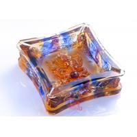 China High Grade Colored Glaze Crafts / Ashtray For Living Rooms Dressing Table on sale