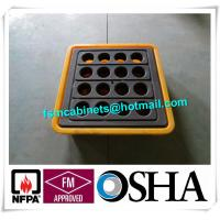 IBC Chemical Spill Containment Trays , 4 IBC Tank Safety Storage Spill Deck And Spill Pallet Manufactures