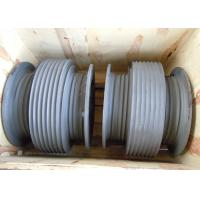 Aluminium Alloy Drum Shaped Wire Rope Reel with Different Reel Diameter Manufactures