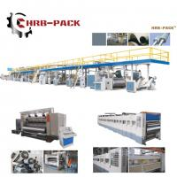 2018 hot sale 3/5/7 Ply Corrugated Cardboard Production Line for carton box Manufactures