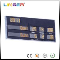 Stadium Outside Customized Afl Led Soccer Scoreboard With CE / ROHS Approved Manufactures
