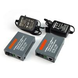 Fiber Optic Media Converter 25km SC 10/100M Singlemode Single Fiber /1 pair Manufactures