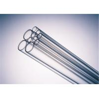 China 6-32mm Transparent Borosilicate Glass Tubing Clear Color CE ISO Certificated on sale