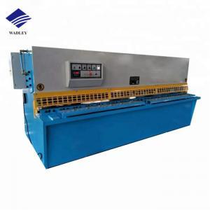 China Hydraulic Metal Shearing Machine 5.5kw Motor For Sheet Metal Plate Working on sale