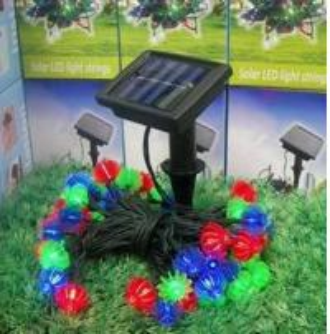 IP6 Flexible Led Strip Lights LED String Light Christmas Halloween Decoration Solar Panel Manufactures