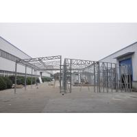 Waterproof Prefabricated Sheds / Metal Car Sheds With Galvanized Steel Frames Manufactures