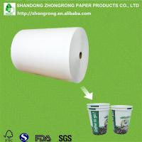230+18gsm PE coated cup stock paper Manufactures