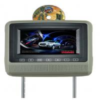 China Car Headrest DVD Players with 32 BITS WIRELESS GAMES 2.0 USB Cigarette Light S-HD798 on sale