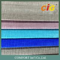 Popular customized colors burn out Sofa Upholstery Fabric 180gsm weight Manufactures