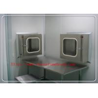Portable Clean Room Equipment Electronical  Pass Box For Hospital Manufactures