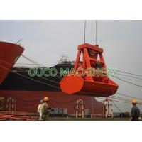 Vessel Clamshell Crane Bucket Steel Structure High Load Bearing Capacity Manufactures