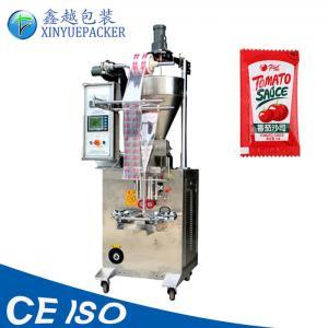 China Multi Purpose Automatic Sauce Packing Machine / Bag Filling And Sealing Machine on sale