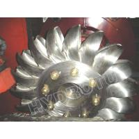 China Hydro Pelton Turbine Runner  with Forge CNC Machining for High Head Hydropower Project on sale