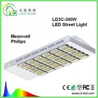 Highway / Roadway Street LED Lights 100w 200w With 5m 8m 10m Pole , 5 Years Warranty Manufactures