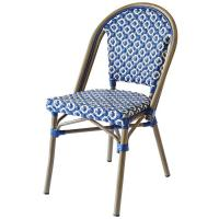 China Strong Bent Rattan Frame Durable Stackable Restaurant Chairs on sale