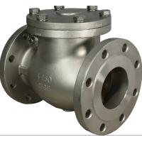 SS 316 Swing Check Valve BOLTED BONNET API 6D BS 1868 For Petroleum Refining