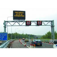 Long Life White Color Fame 1R1W Single Chip Led Traffic Display Sign 900.5 * 600.5 * 69mm Manufactures