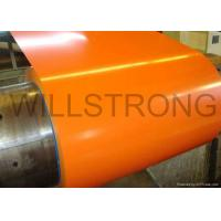 China Hot Rolled Color Coated Aluminum Coil , Prepainted PVDF Coated Aluminium Sheets  on sale