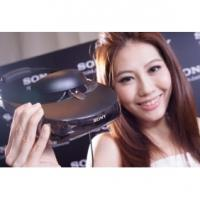 China Wholesale Price 2014 750 inch Sony HMZ-T3W Wireless 3D head mounted display game control on sale