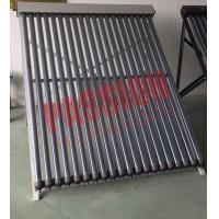 No Noise Heat Pipe Solar Collector 45 Degree Angle Frame For Hospital Manufactures
